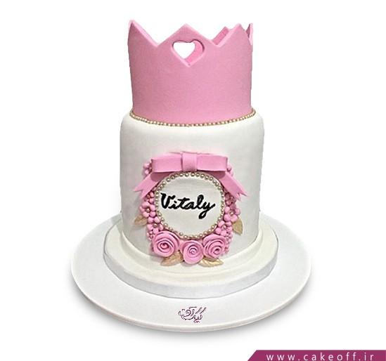 کیک روز دختر - کیک دخترانه مهربان ملکه | کیک آف
