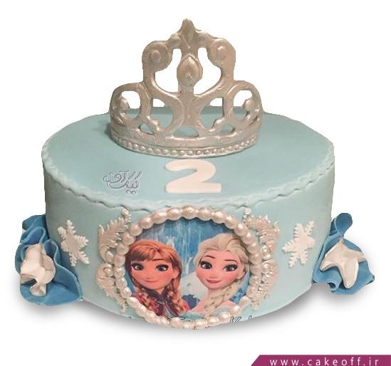 کیک السا و آنا 6