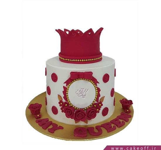 کیک های تولد دخترانه - کیک فرمانروای مهربان | کیک آف