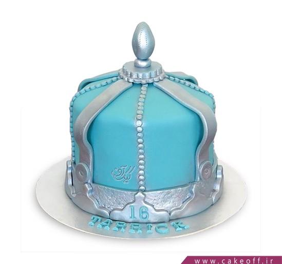 کیک تولد فوندانت - کیک حریم سلطان | کیک آف