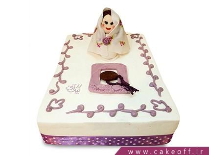 کیک جشن عبادت نقلی نماز می خواند | کیک آف