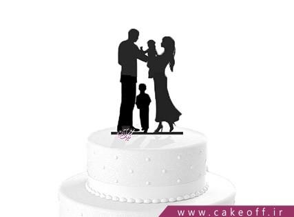 کیک خامه ای - کیک خانواده در یک قاب | کیک آف