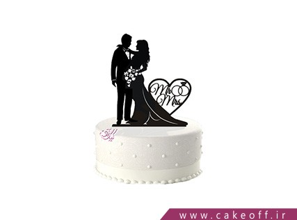 کیک نامزدی - کیک آخرین تانگو در پاریس | کیک آف