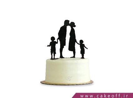 کیک تاپر دار - کیک بوسه شیطنت آمیز | کیک آف