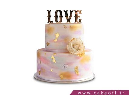 کیک عاشقانه افسانه | کیک آف
