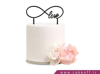 کیک عاشقانه بر باد رفته | کیک آف