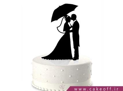 کیک عاشقانه - کیک نامزدی صدای سخن عشق | کیک آف