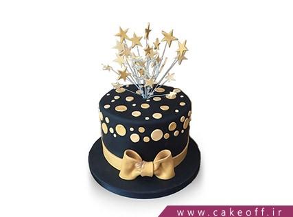 کیک فانتزی ستاره ها می درخشند | کیک آف