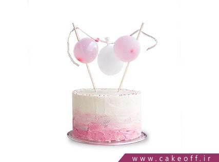 مدل کیک تولد جدید - کیک آویز بادکنکی | کیک آف