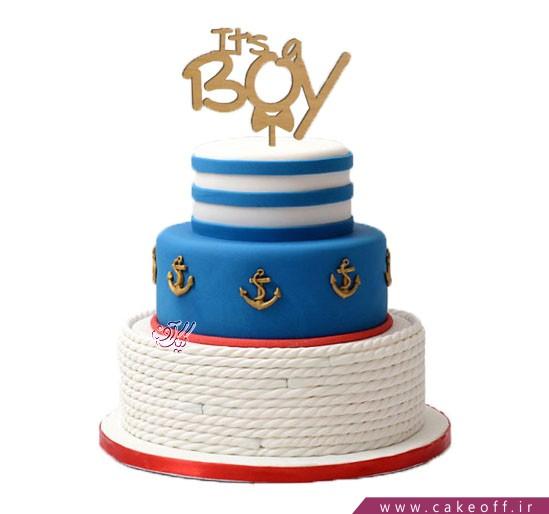 کیک تولد پسرانه ناخدا | کیک آف