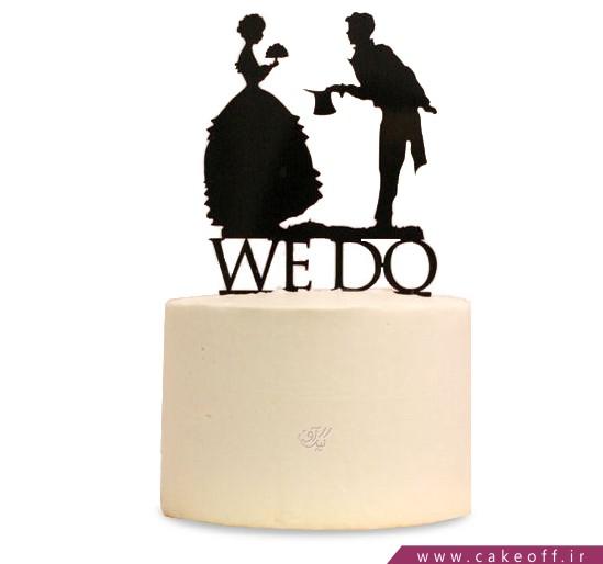 کیک عاشقانه - کیک با من ازدواج میکنی؟ | کیک آف