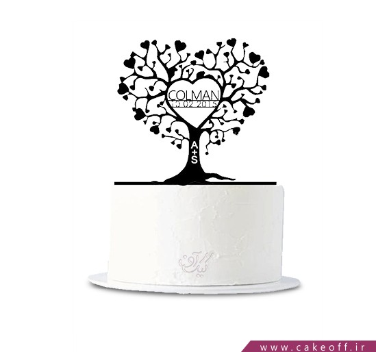 کیک عشق ریشه دار