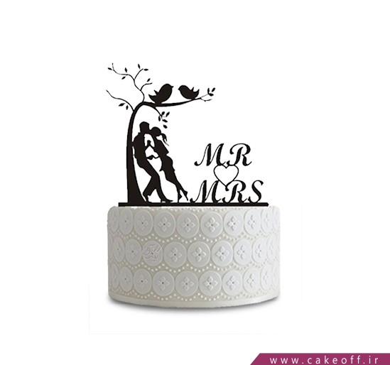 کیک عاشقانه - کیک دوران عاشقی | کیک آف