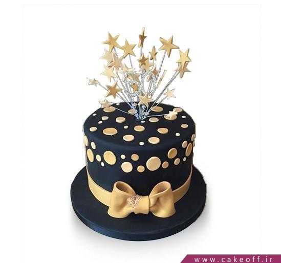 کیک فانتزی ستاره ها می درخشند   کیک آف