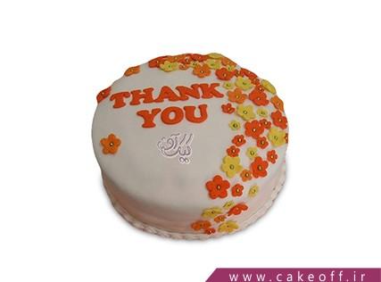 کیک روز دختر  - کیک گلهای پاییزی | کیک اف