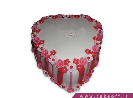 کیک عاشقانه - کیک نگارینا | کیک آف