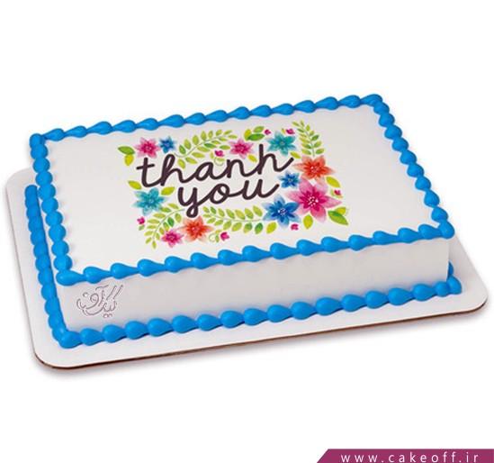 سفارش چاپ عکس روی کیک در اصفهان - کیک باغ گلها | کیک آف