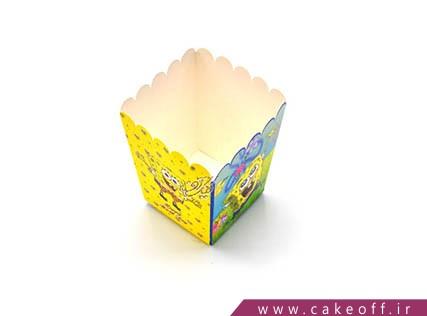 ظروف تولد - ظرف پاپ کورن باب اسفنجی | کیک آف