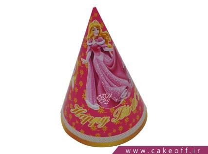 کلاه تولد دخترانه | تم پرنسس