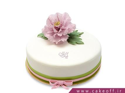 سفارش کیک تولد در اصفهان - کیک گل رو | کیک آف