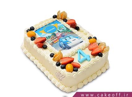 سفارش کیک ماشین - کیک تولد مک کویین 2 | کیک آف