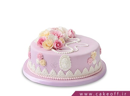 کیک تولد یاسگل | کیک آف