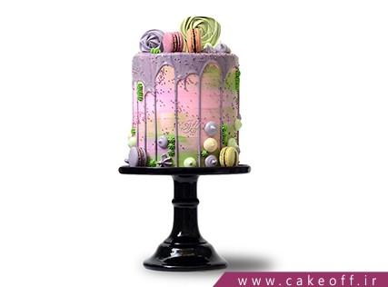 سفارش کیک اینترنتی - کیک چکه ای شادانه | کیک آف