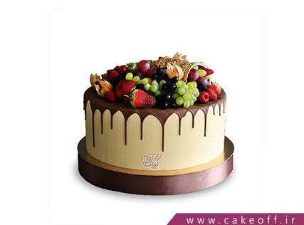 کیک چکه ای میوه های تابستانه | کیک آف