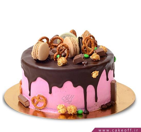 کیک چکه ای - کیک شادگون | کیک آف