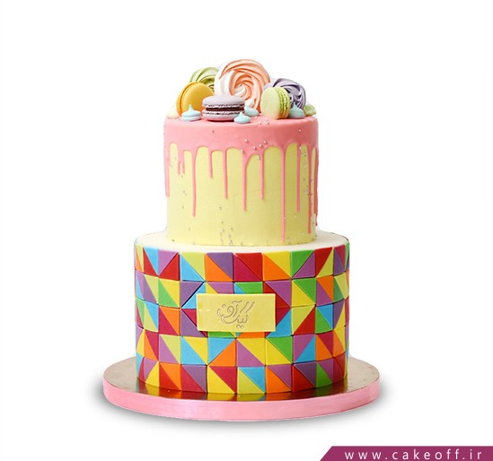 سفارش کیک اینترنتی - کیک چکه ای شکرریز | کیک آف