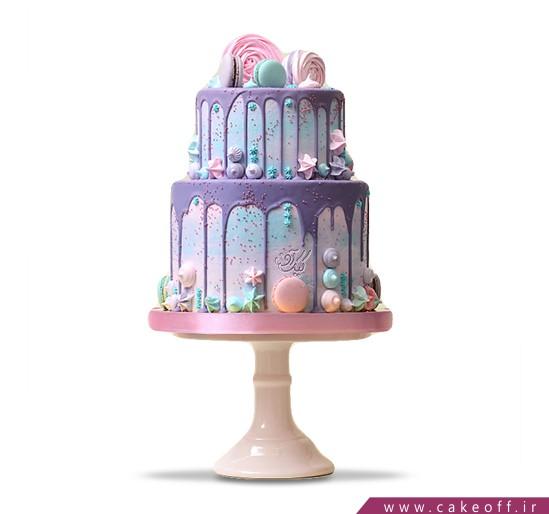 کیک تولد دخترانه شهدیس | کیک آف
