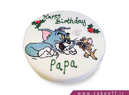 کیک تولد کودک - کیک تام و جری 3 | کیک آف