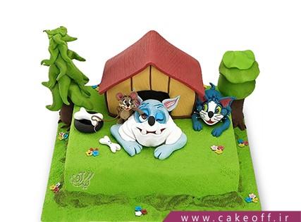 کیک تولد کودک - کیک تام و جری 4 | کیک آف