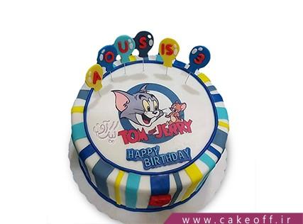 کیک تولد کودک - کیک تام و جری 6 | کیک آف