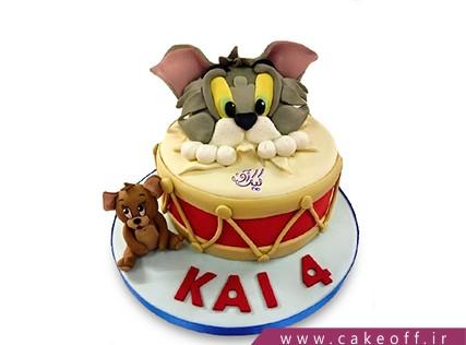 کیک تولد کودک - کیک تام و جری 7 | کیک آف
