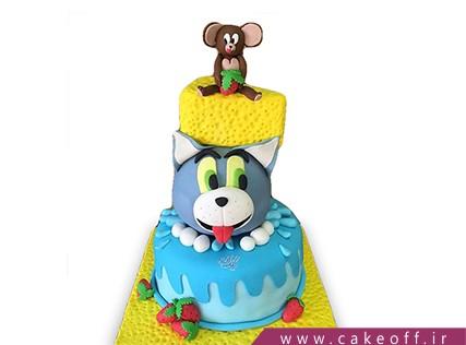 کیک تولد کودک - کیک تام و جری 9 | کیک آف