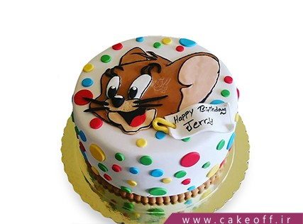کیک تولد کودک - کیک تام و جری 10 | کیک آف
