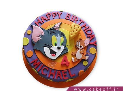 کیک کودکانه - کیک تام و جری 11 | کیک آف