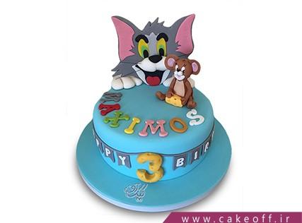 کیک کودکانه - کیک تام و جری 12 | کیک آف