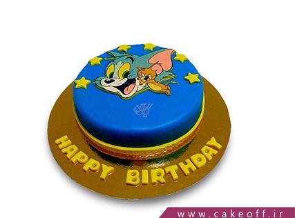 کیک کودکانه - کیک تام و جری 13 | کیک آف