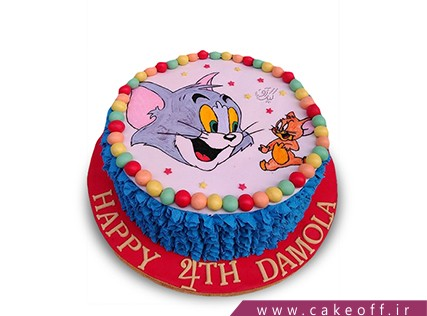 کیک کودکانه - کیک تام و جری 14 | کیک آف