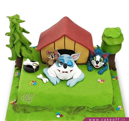 کیک تولد کودک - کیک تام و جری ۴ | کیک آف