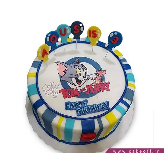 کیک تولد کودک - کیک تام و جری ۶ | کیک آف