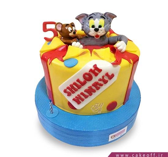 کیک تولد کودک - کیک تام و جری ۷ | کیک آف