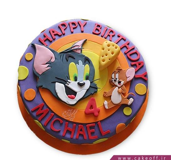 کیک کودکانه - کیک تام و جری ۱۱ | کیک آف