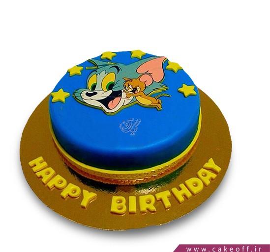 کیک کودکانه - کیک تام و جری ۱۳ | کیک آف