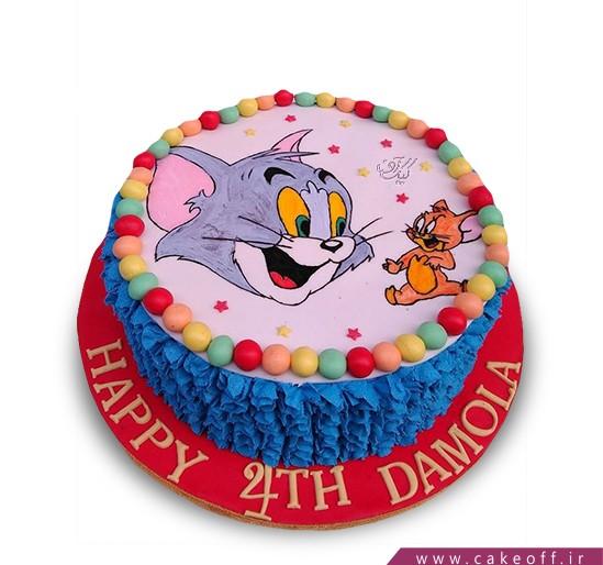 کیک کودکانه - کیک تام و جری ۱۴ | کیک آف