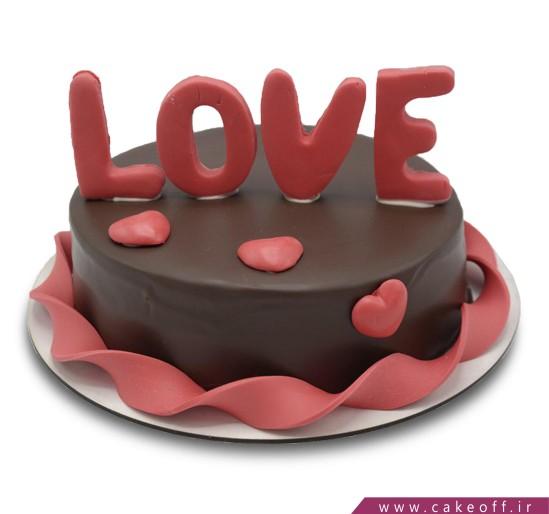 کیک نیوشا عاشقانه من