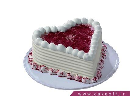 کیک عاشقانه - کیک قلب شیرین | کیک آف
