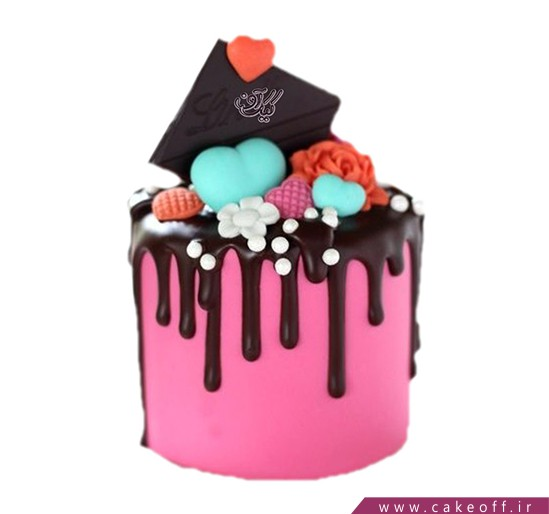 کیک تولد زیبا - کیک ملودی | کیک آف